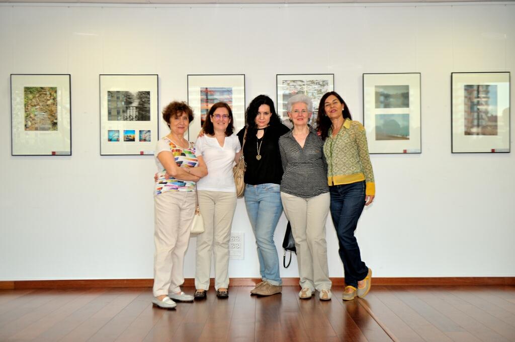 Rosa Marco, Alicia Carnicer, Pilar Giambanco, Beatriz Solé y Ángela Mirabal.