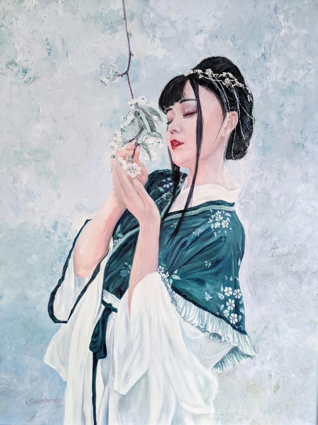 Óleo sobre lienzo. 73 x 92 cm